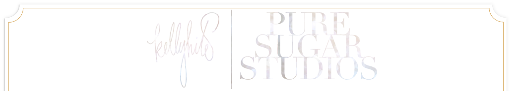 Pure Sugar Studios | based in NE Florida | Photography in the SE and worldwide |  Wedding, Engagement and Lifestyle photography based out of Florida logo